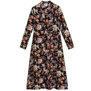 elevenparis floral maxi dress